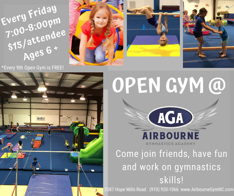 AGA Open Gym Flier