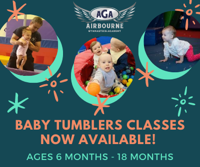Baby tumblers classes now available!